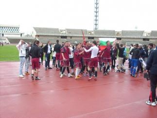 Златната купа от турнира по футбол в града е отново при нас
