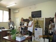 Лаптоп е голямата награда от Дунапак родина АД за  за активността на участниците в клубовете по проект