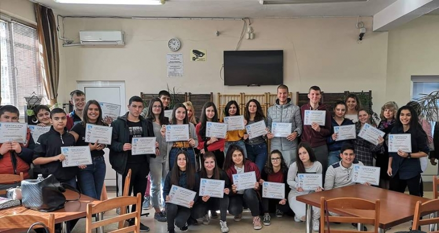 Рекорден брой участници в националното състезание по творческо писане на английски език в ПГТ